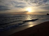 evening at ELWA beach